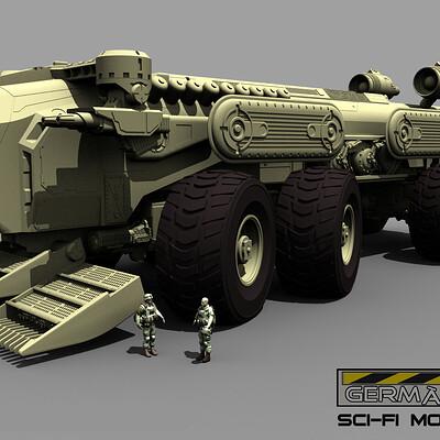 German impache toro truck1