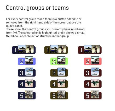 UI Elements - Control Groups
