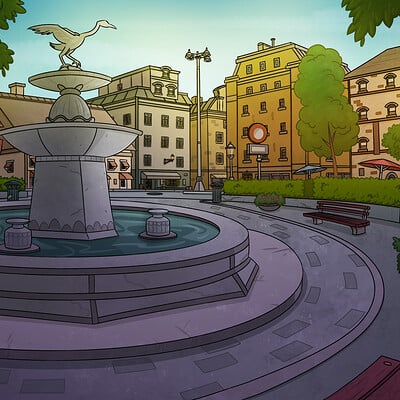 City Fountain