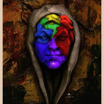 Surajit sen colours of dream digital sculpture by surajit sen march2021al