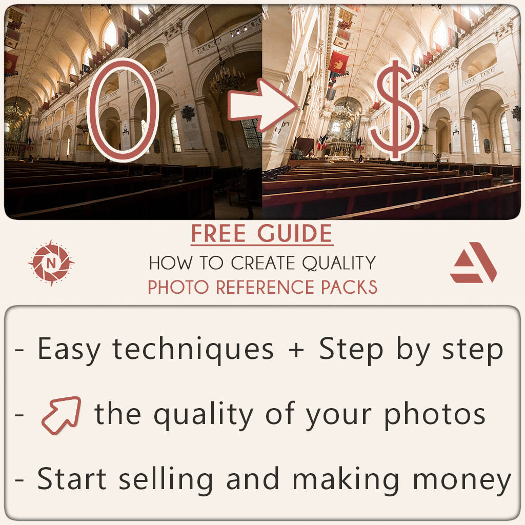 Free guide to create quality Photo Reference Packs