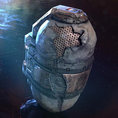 Space sauce broken capsule