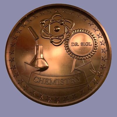 Florian sigl chemie medaille