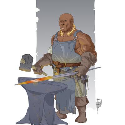 Horacio boriotti blacksmith2