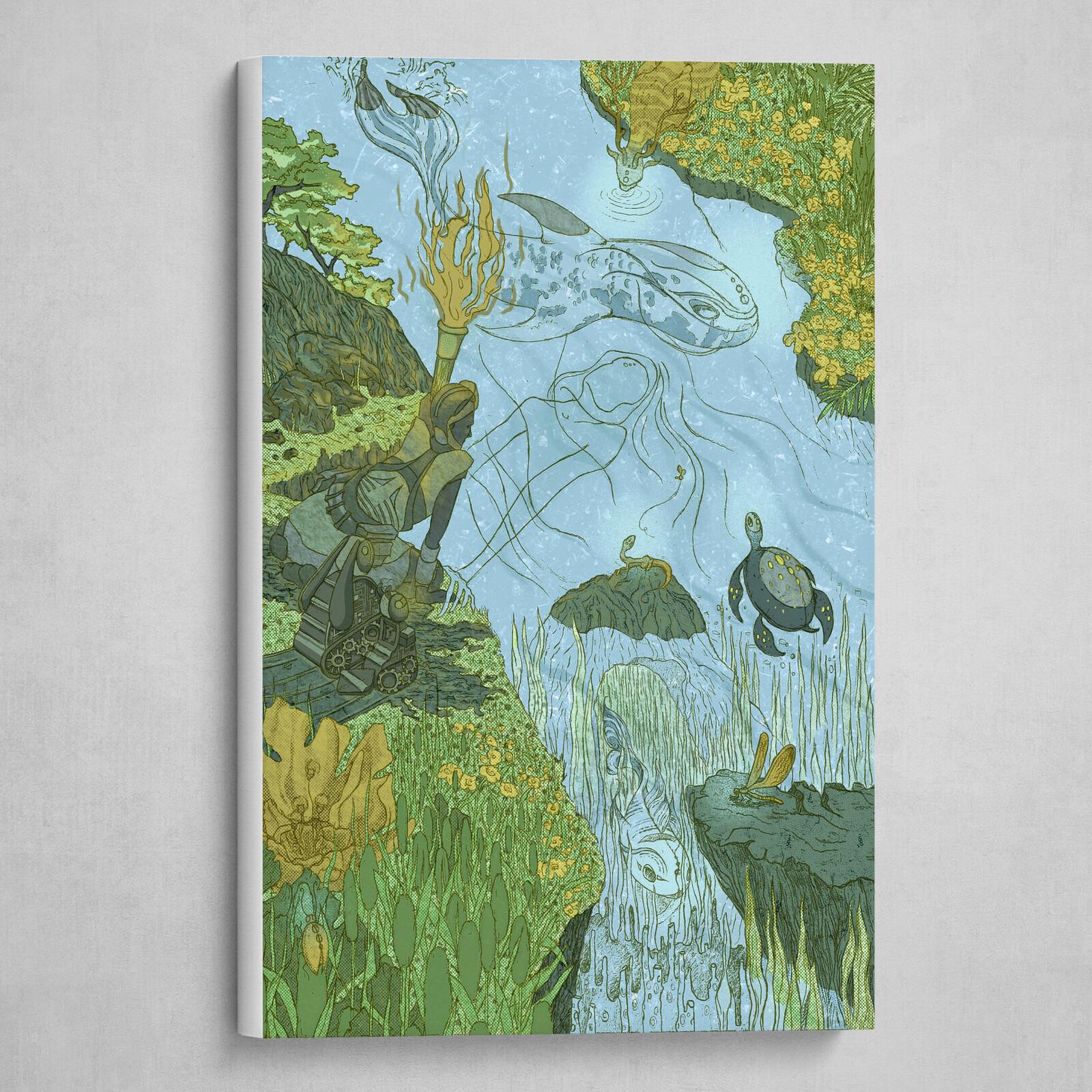 Canvas Wrap [GREEN]