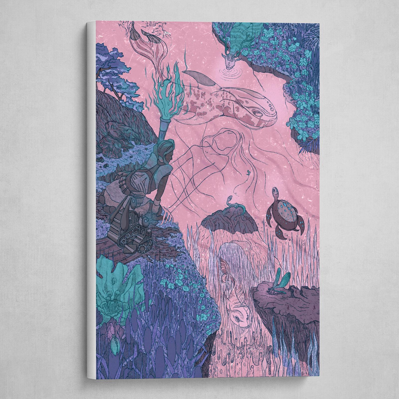 Canvas Wrap [PINK]