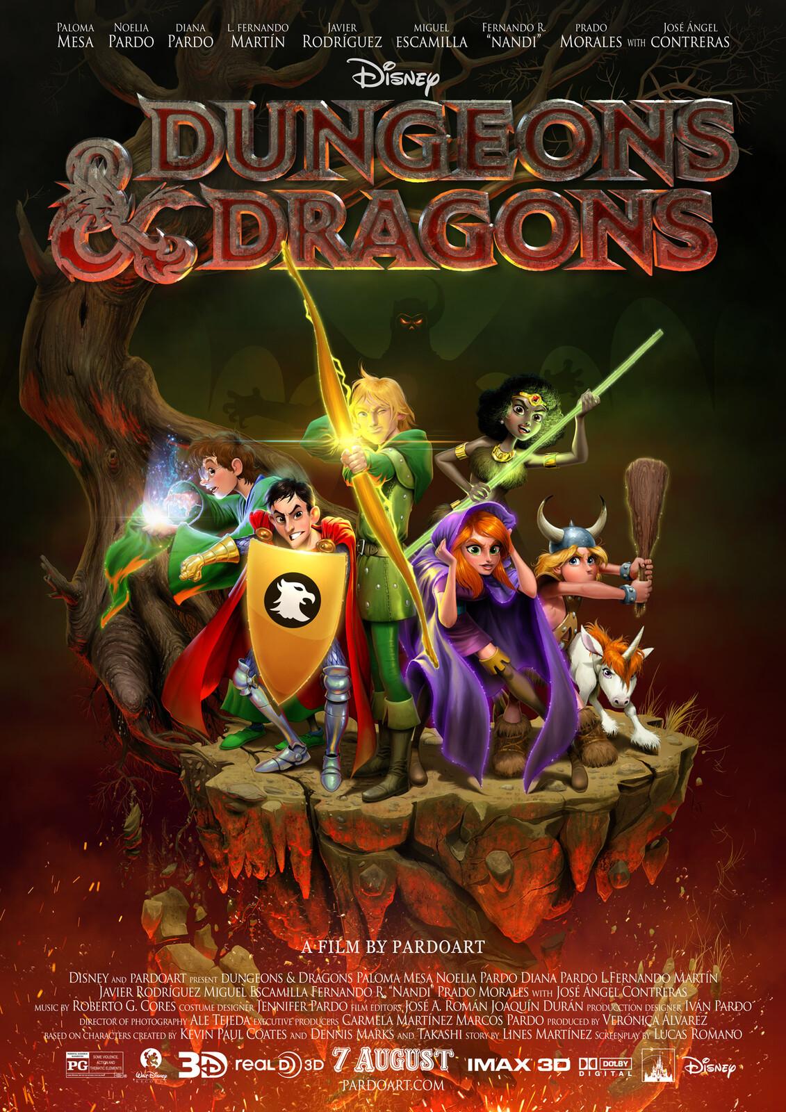 Pardoart's Dungeons & Dragons Film