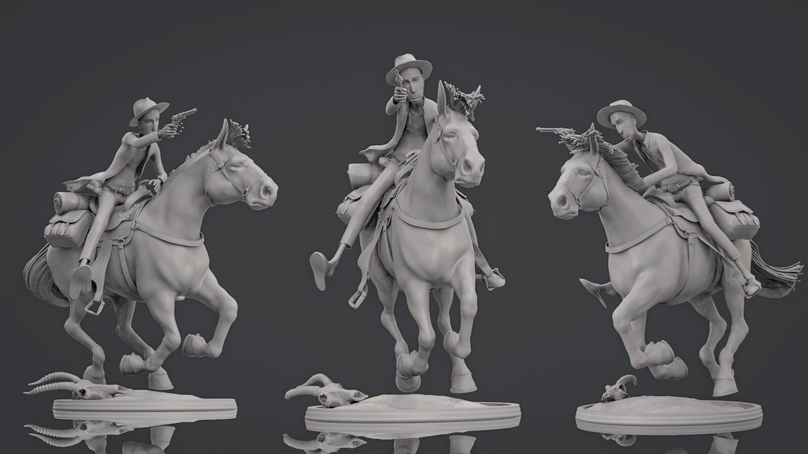 Cowboy - Sculpt