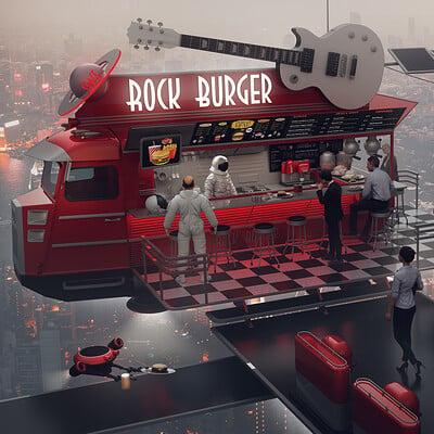 Encho enchev space rock burger1