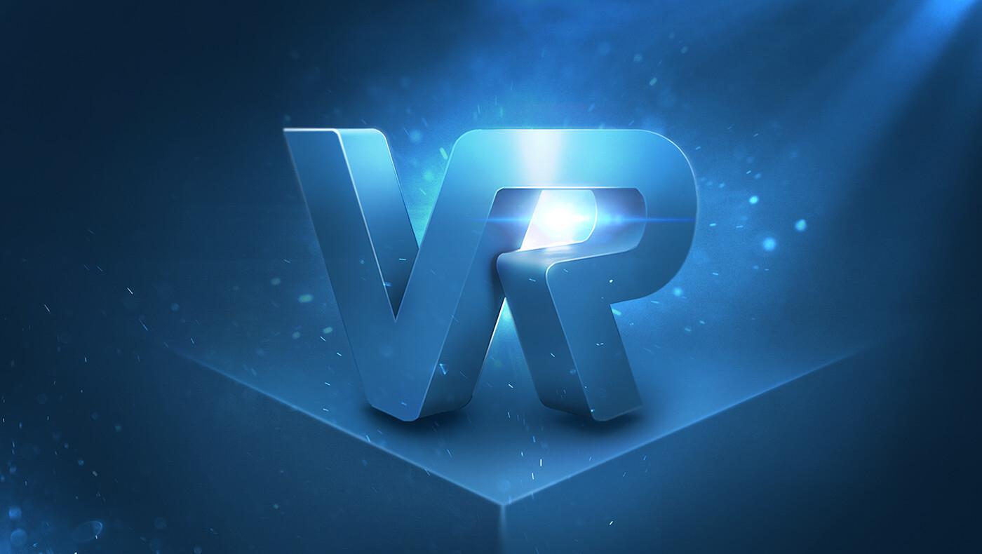 VR - Virtual Reality logo visual