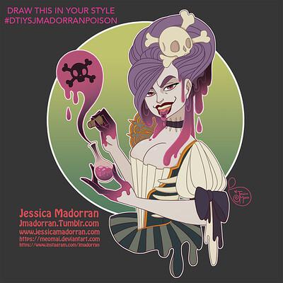 Jessica madorran patreon march 2021 dtiys evil victorican poison artstation