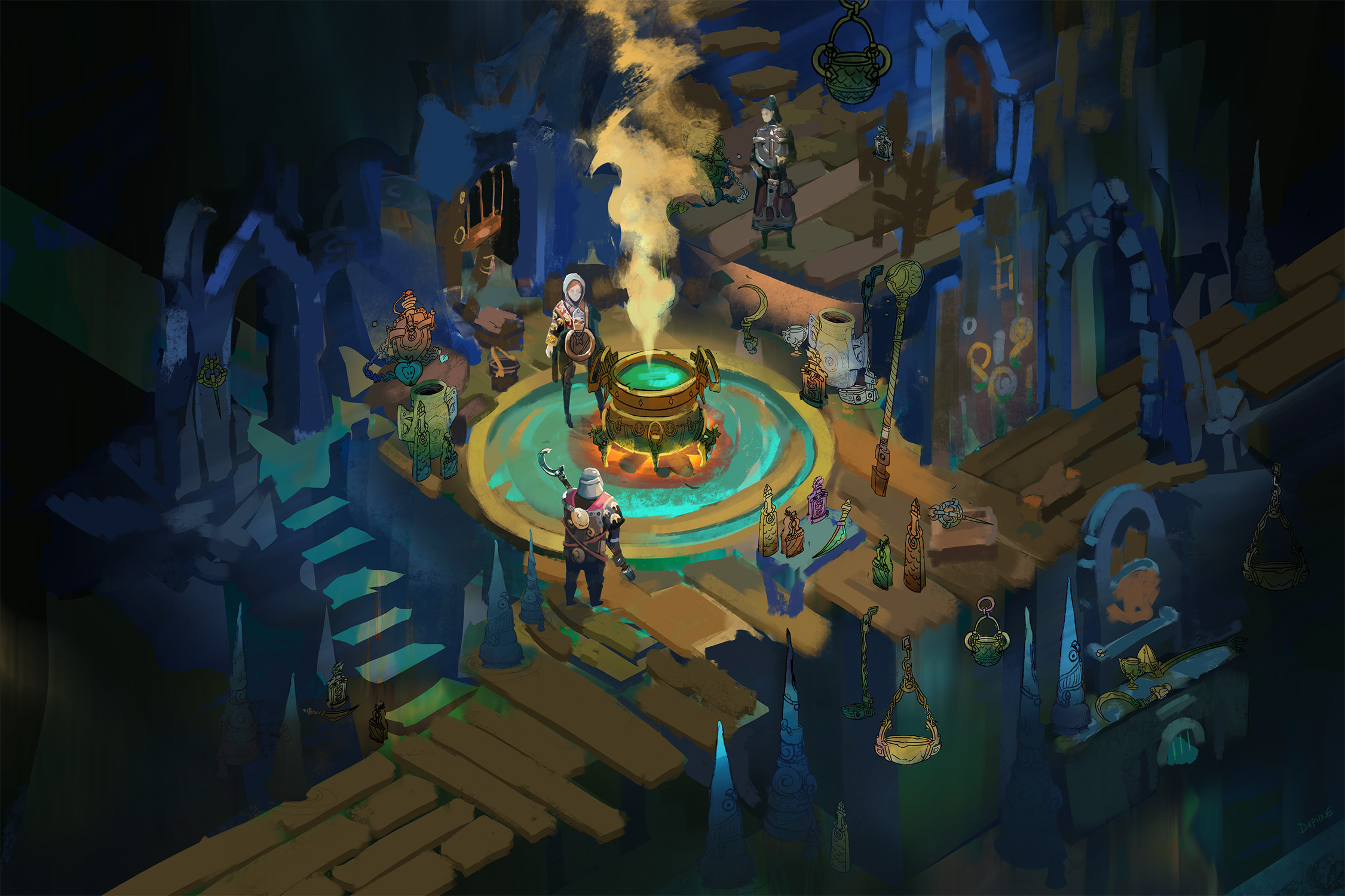 The Potion Seller's Dungeon Shop