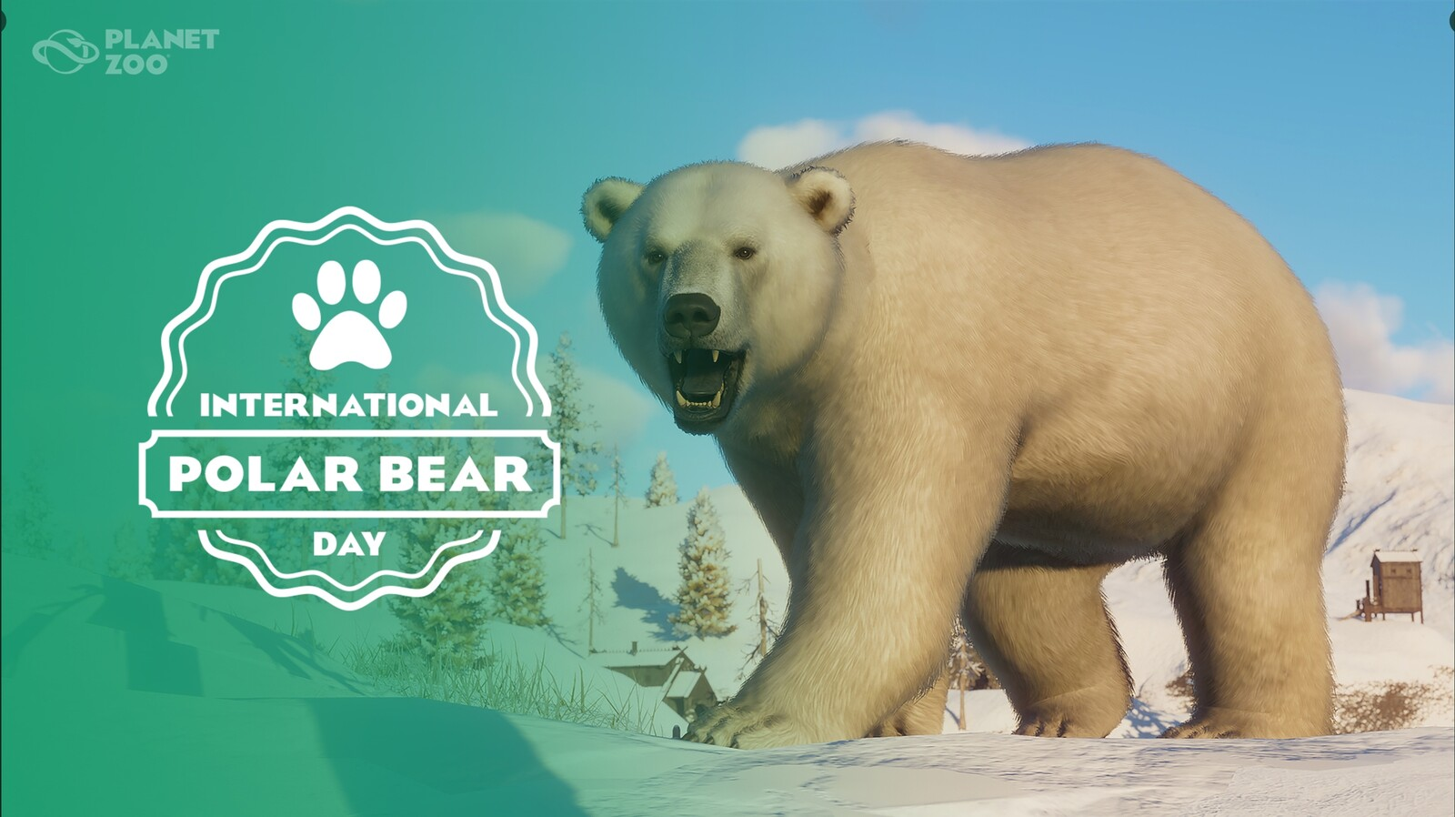 Planet Zoo - National Polar Bear Day