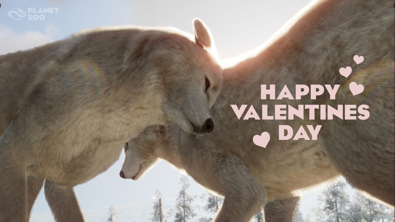 Planet Zoo - Happy Valentines
