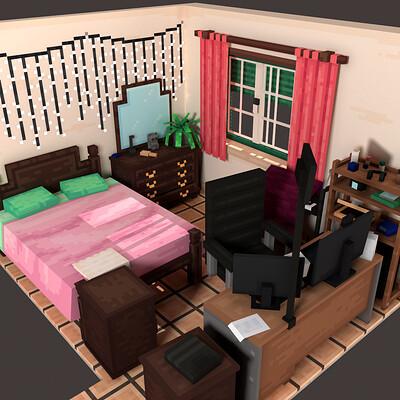 Claudia vieira isometric bedroom render1