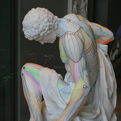 Alexey samokhin louvre sculpture 2 m