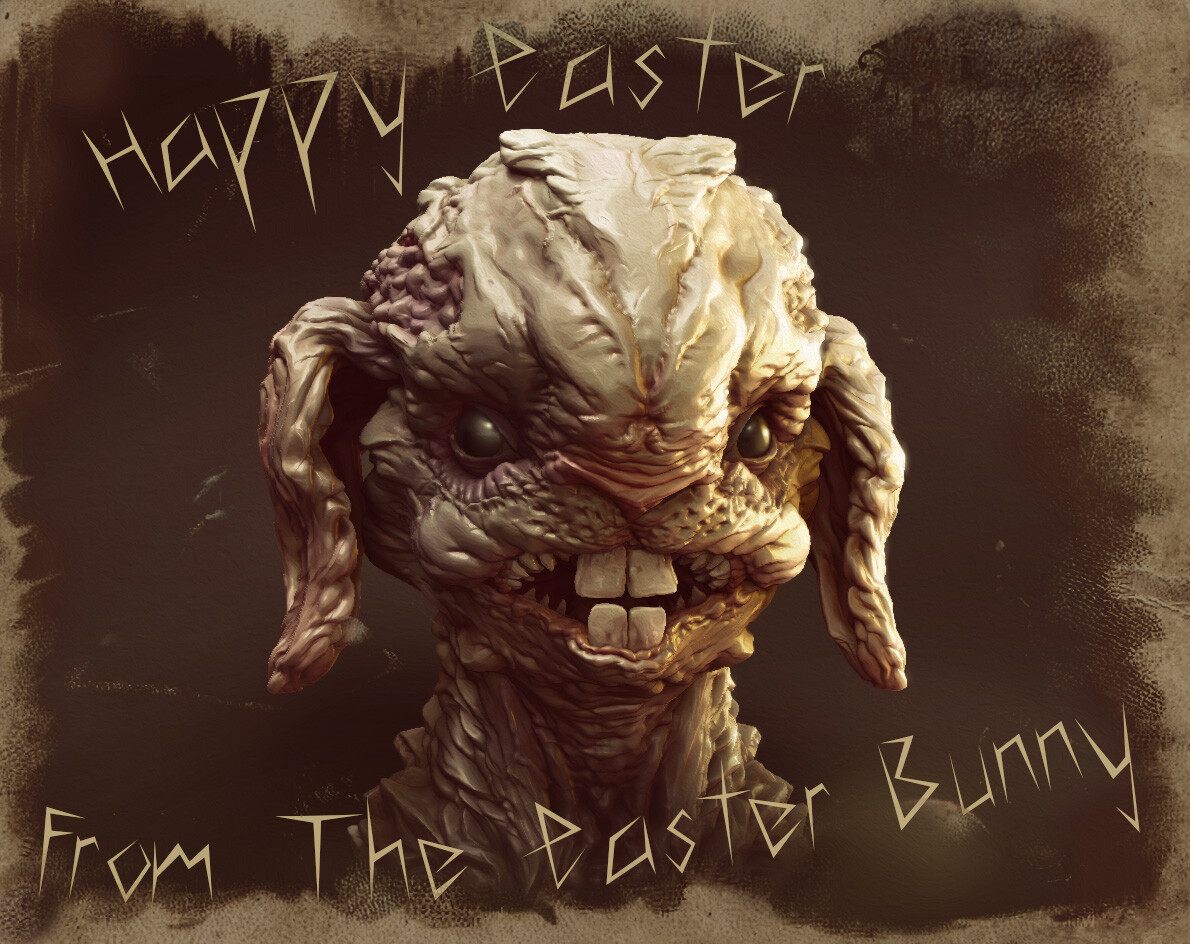After all this might be really how the Easter Bunny looks.