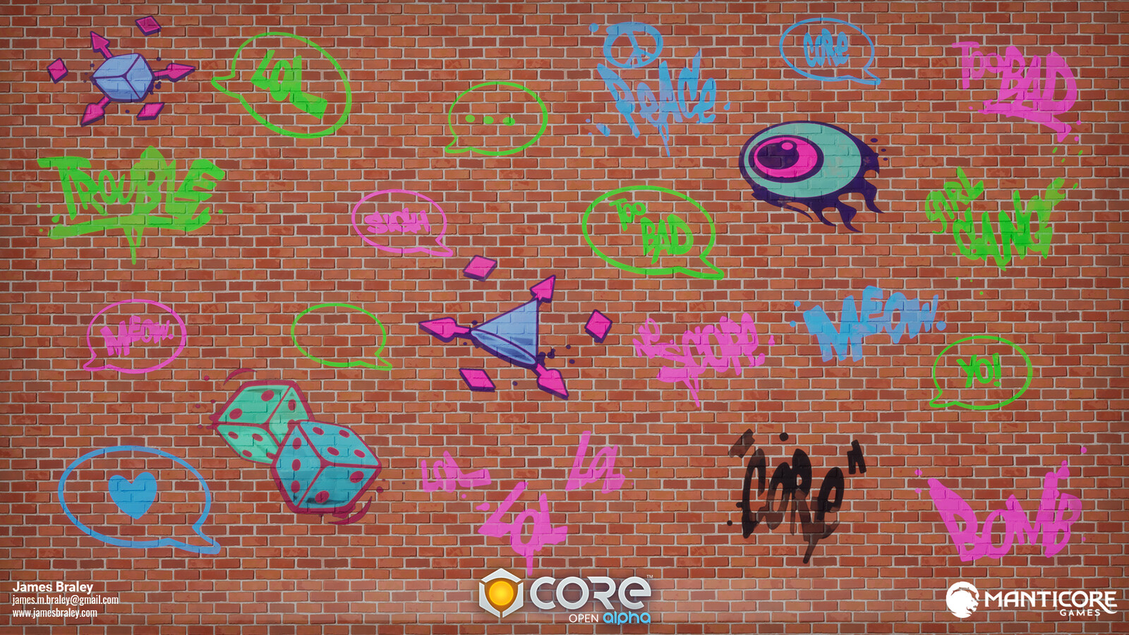 Graffiti Decals (Concepts by Jordan Louie)