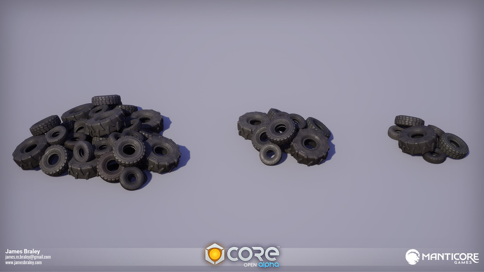 Military Tire Piles