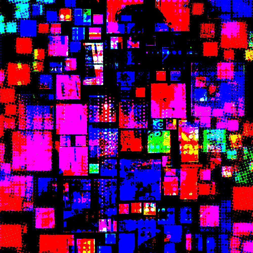 Mondrilinear Quadrates by Industrial Punk
