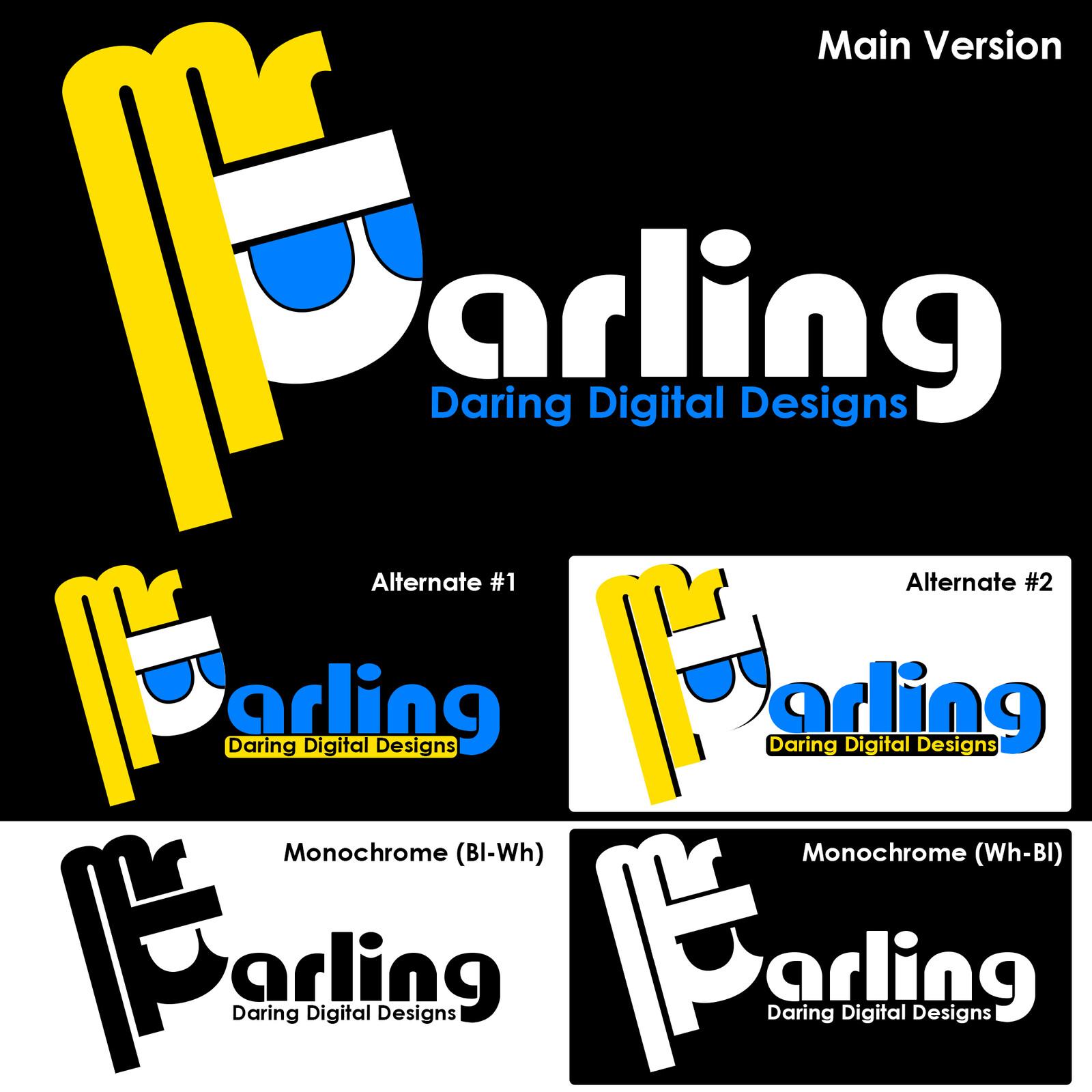 Mr_Darling Logotypes #1