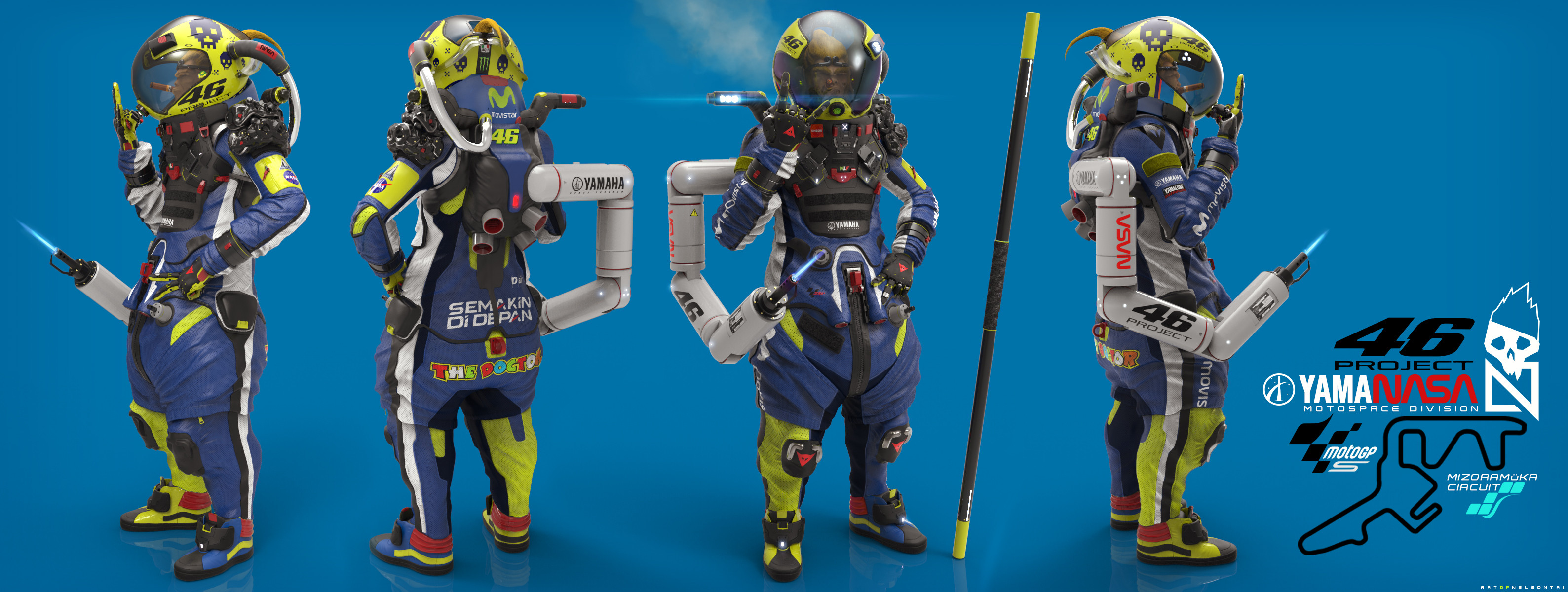 Special VR46 Space rider edition
