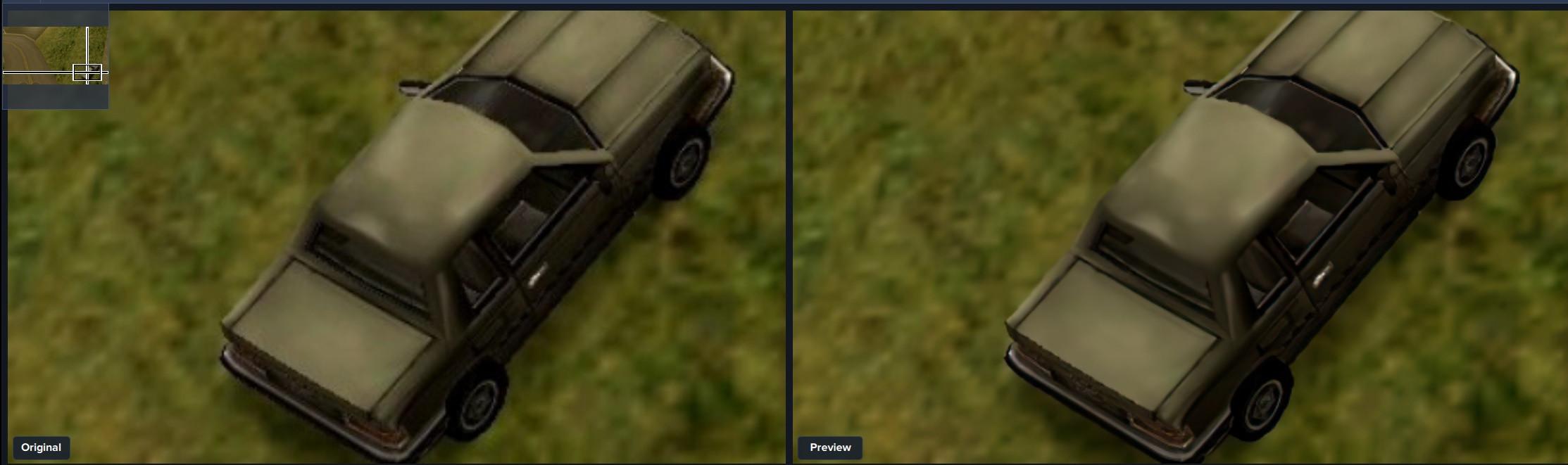 giga pixel AI