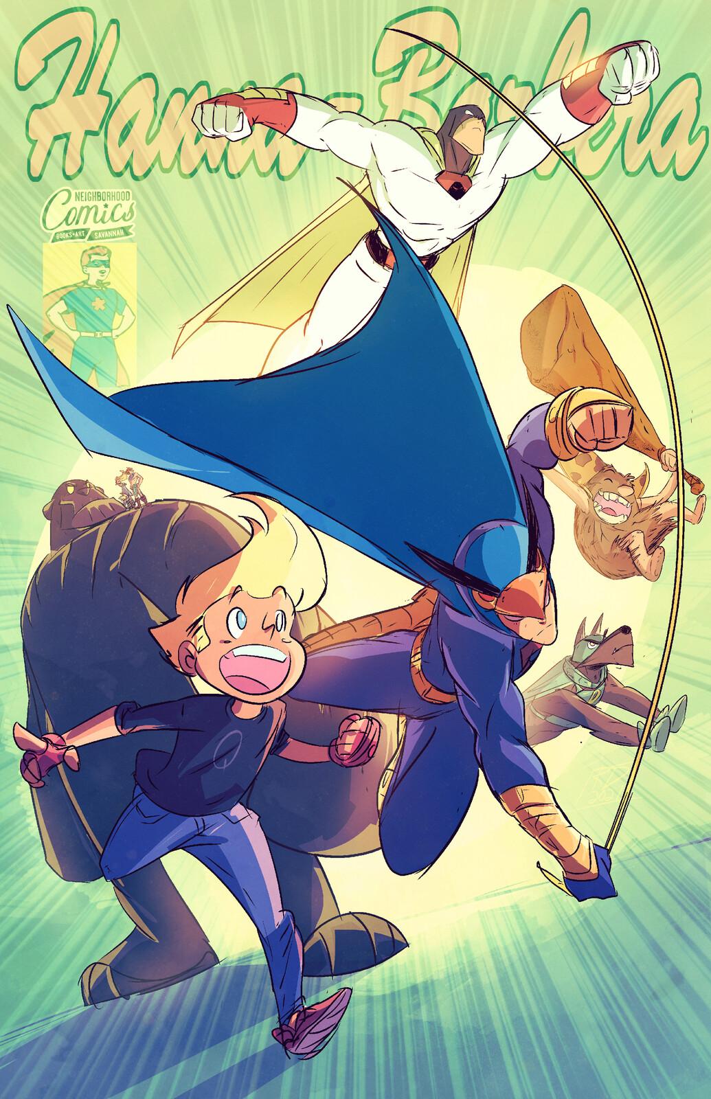 Hanna Barbera Characters!