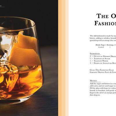 Kim timbone classic cocktail book design