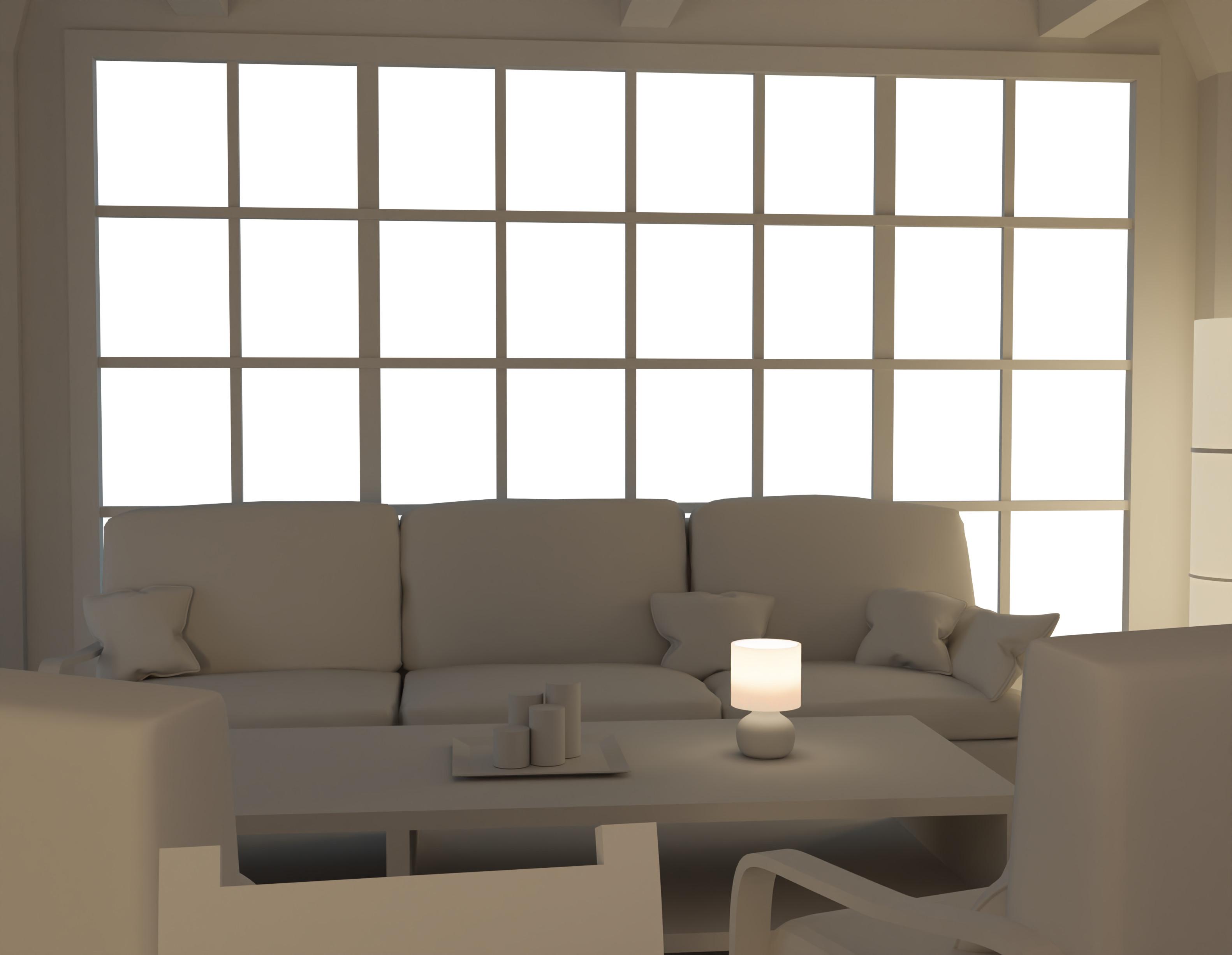 Living room - 3d base
