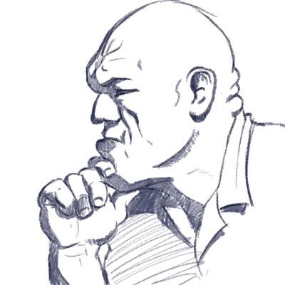 Shaun lindow man sketch