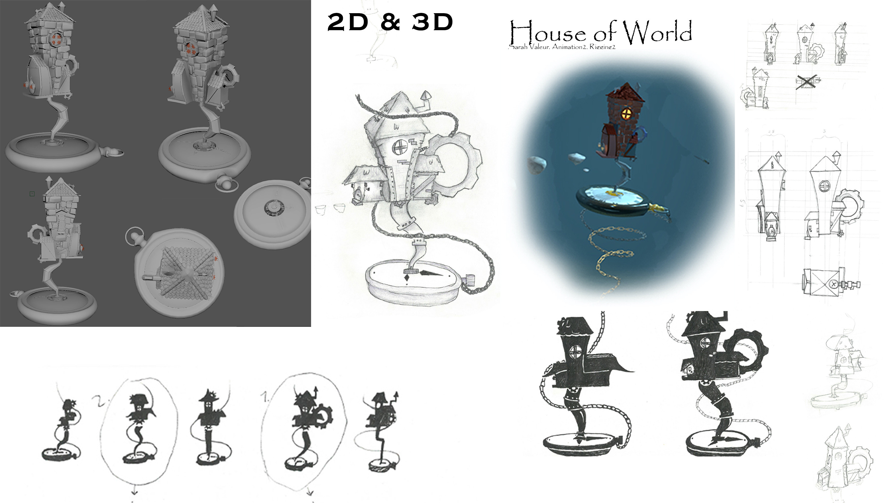 Sarah Valeur, Animation