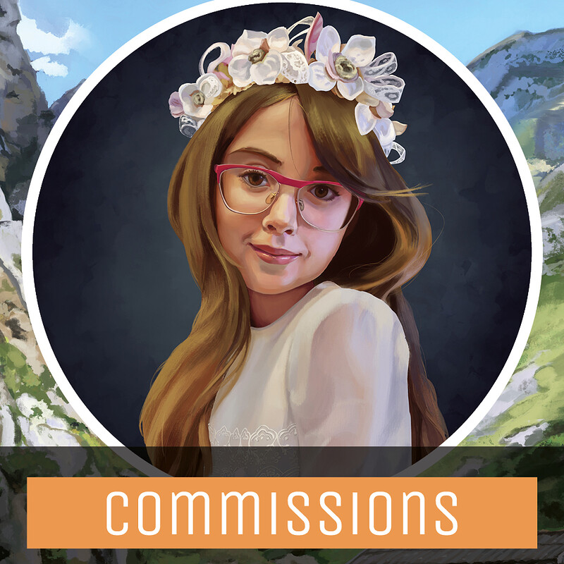 Commissions open cards