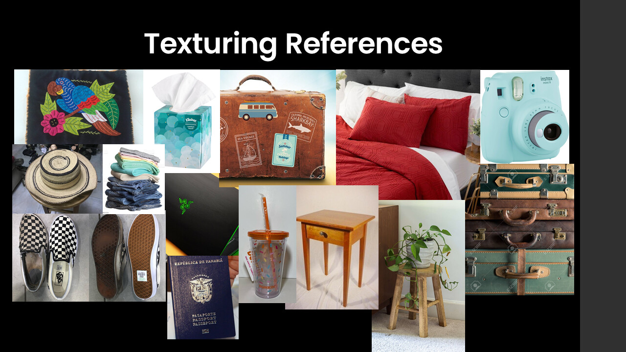 Texturing References