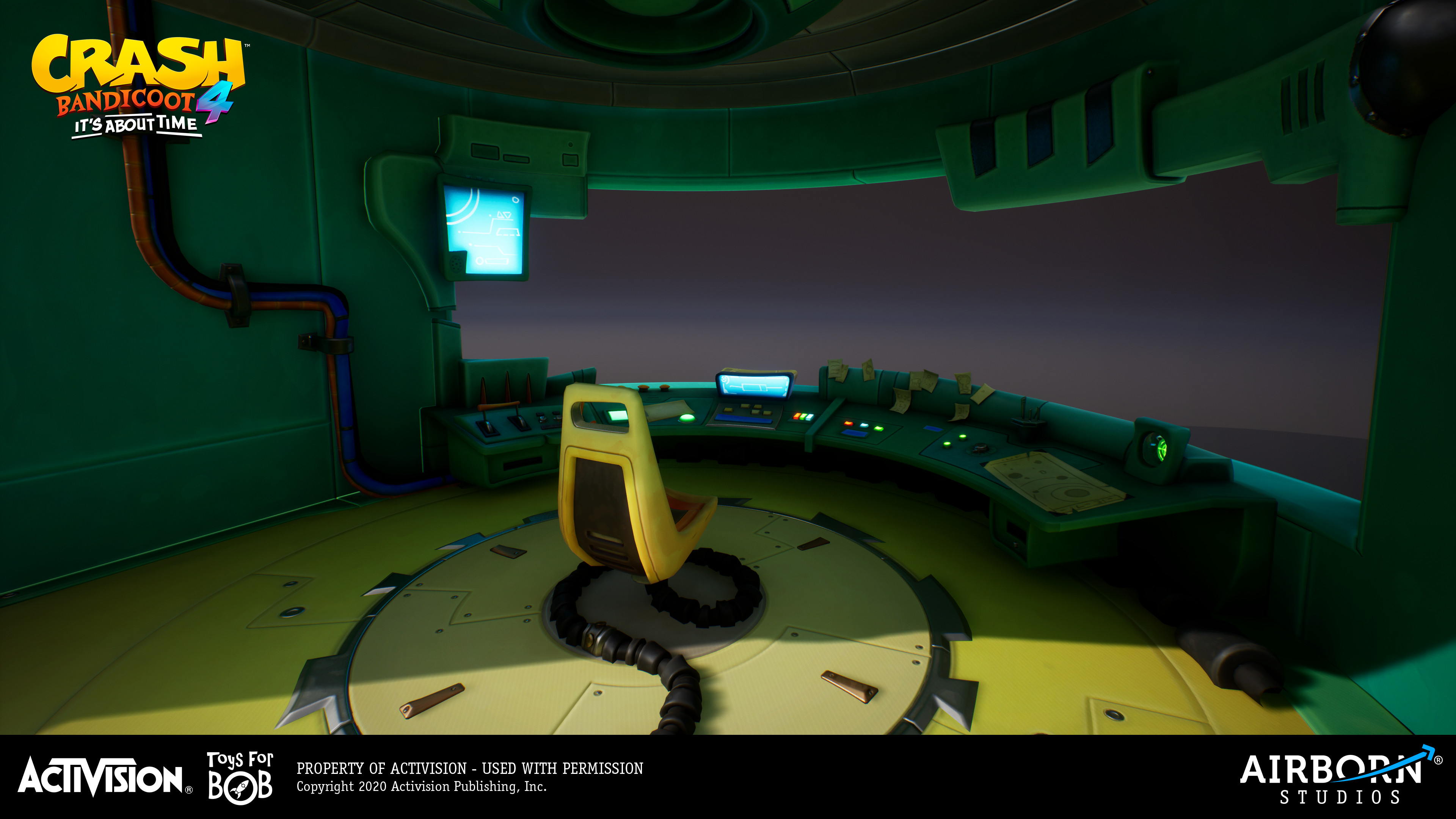 Neo Cortex Control Room - 3D work done by Frederic Fouque; support by Benjamin Sauer and Manuel Virks (lighting)