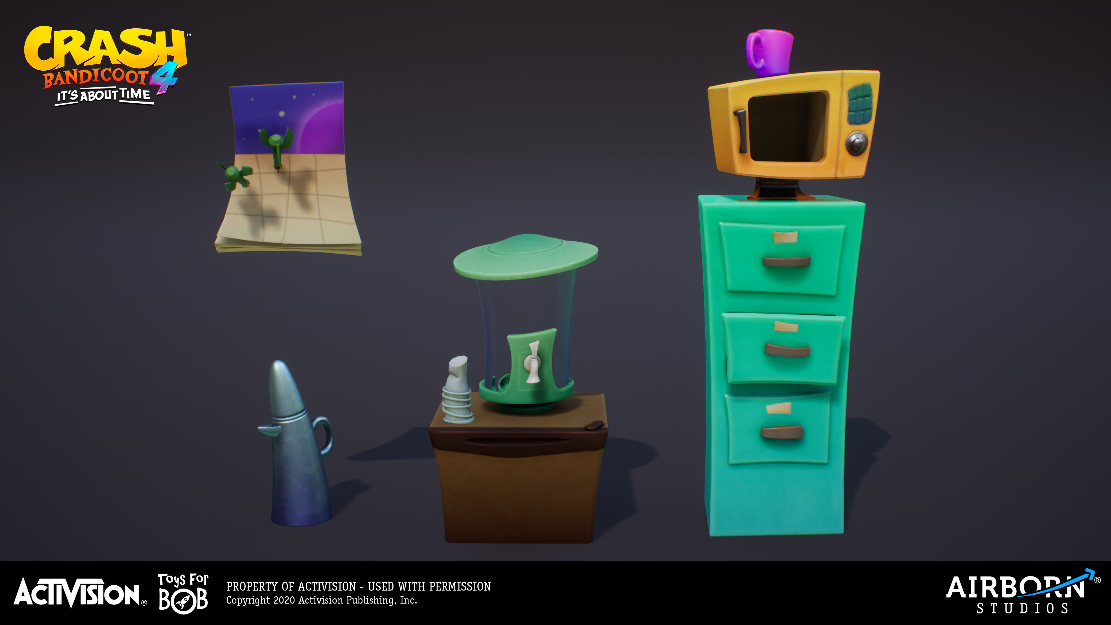 Neo Cortex Control Room assets done by Benjamin Sauer