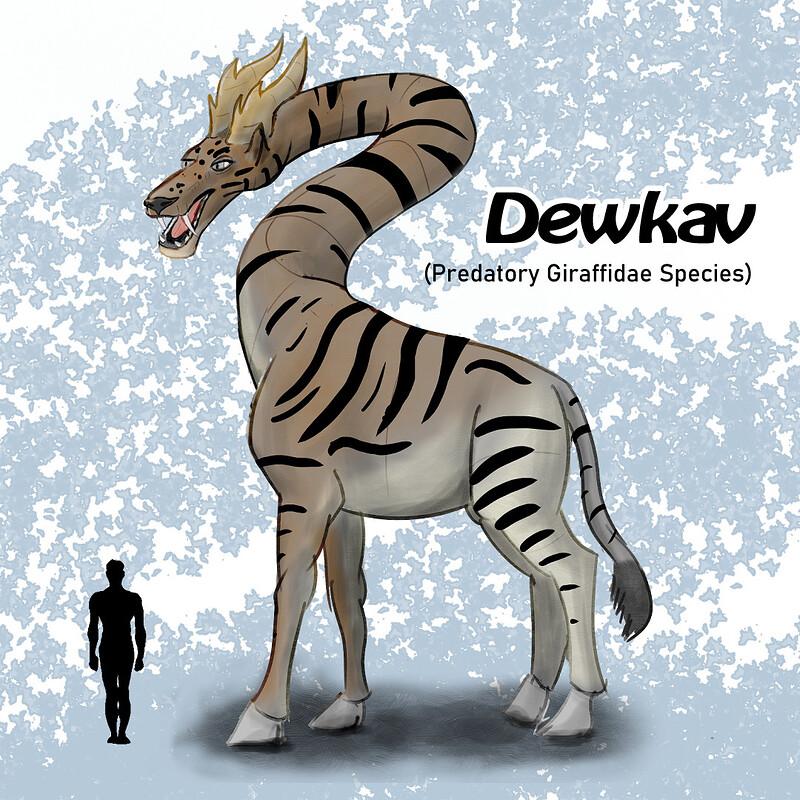 Dewkav - Predatory Giraffe Concept