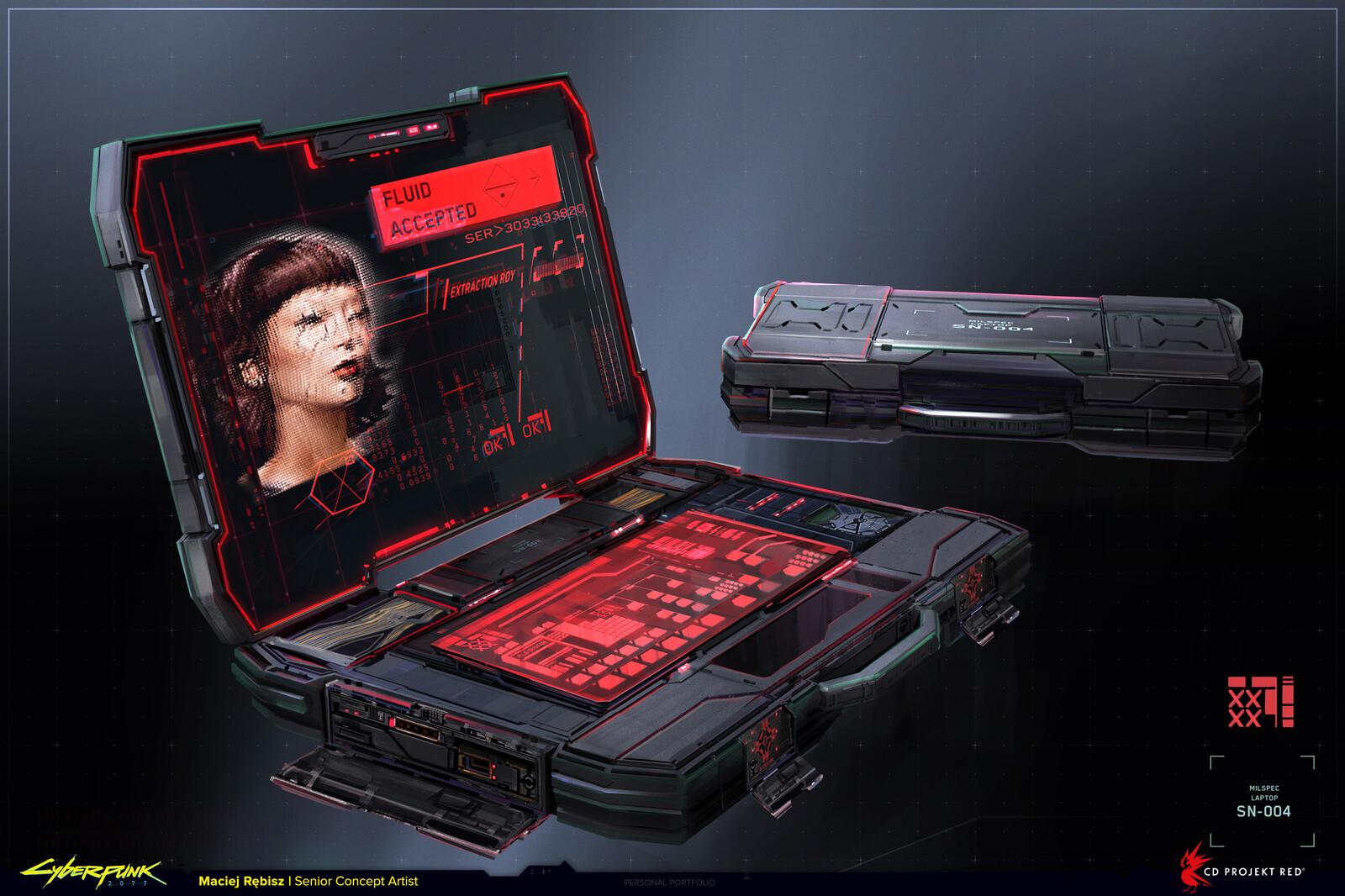 MIlitarism laptop