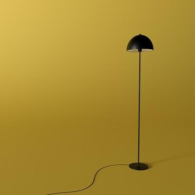Freddie o reilly bonnet floor lamp