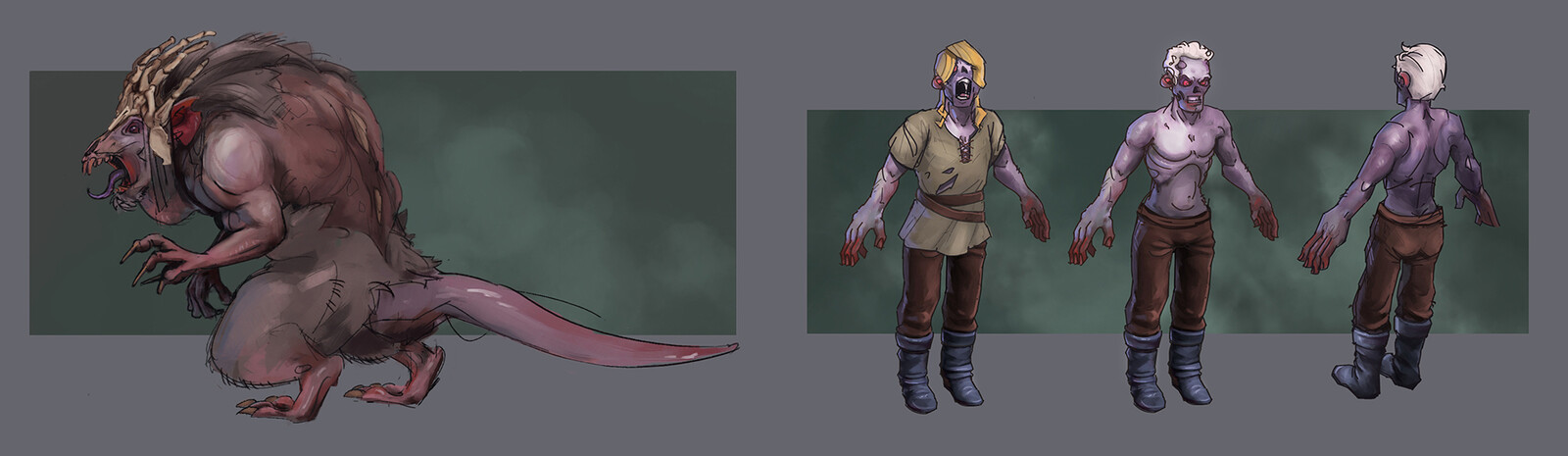 Boss and Enemy Concept