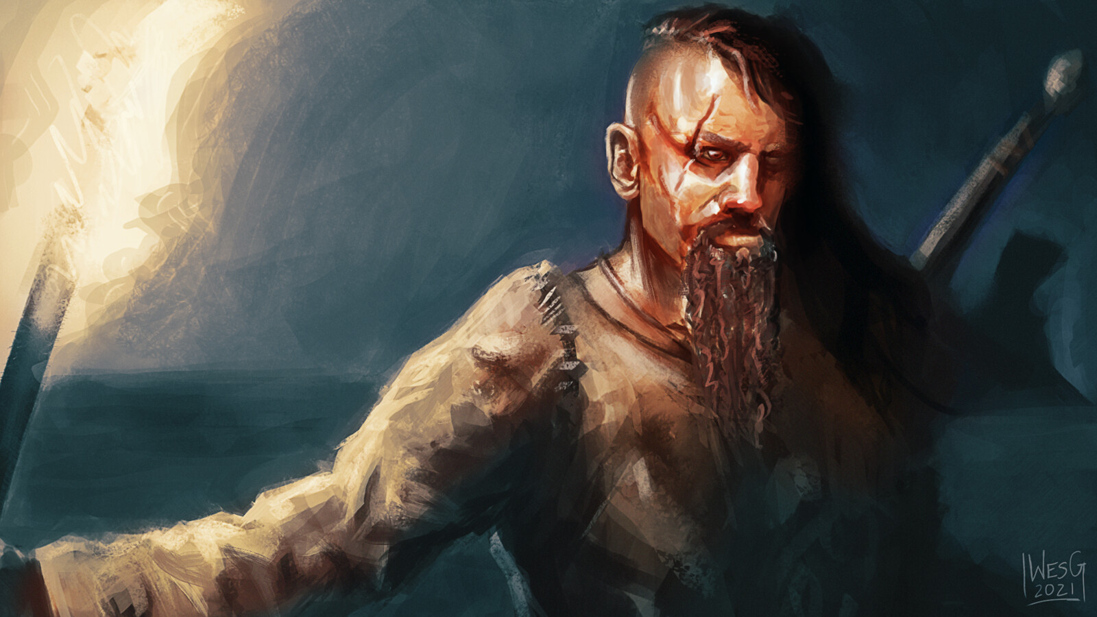 Viking Sketch (w/ video!)