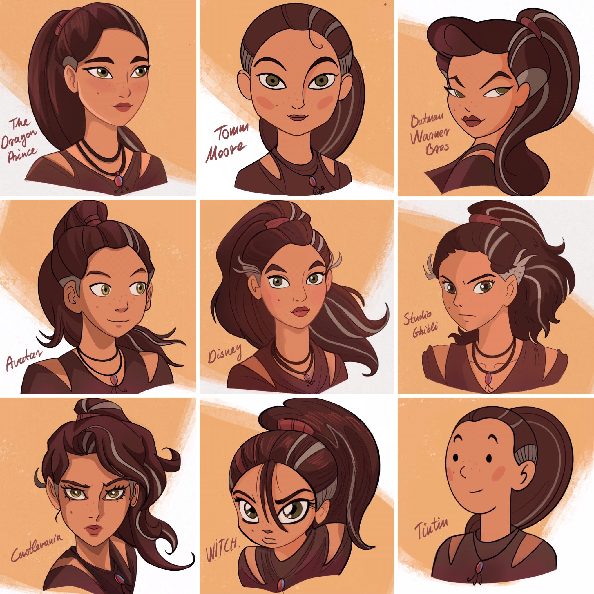10 Art Styles - the famous styles