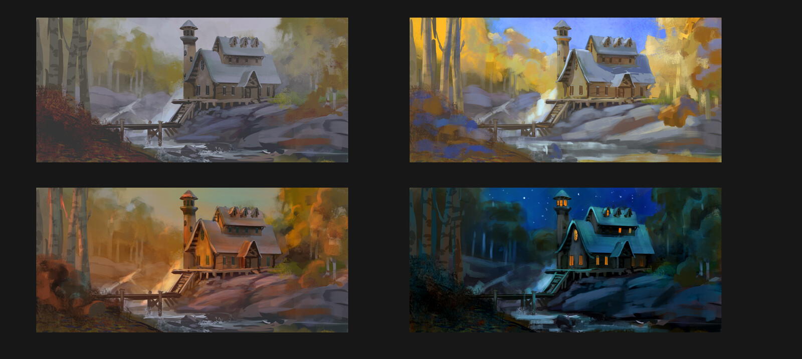 Time of Day Paintings