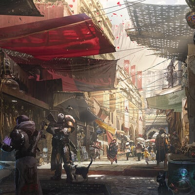 Blake rottinger destiny bazaar scene web