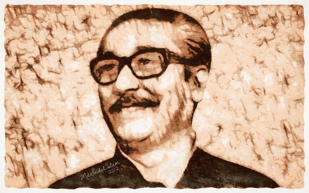 Bangabandhu Sheikh Mujibur Rahman, a preacher of socialism and democracy  License: Creative Commons Attribution-Noncommercial-No Derivative Works 3.0 License