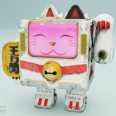 Little Maneki-Neko Robot