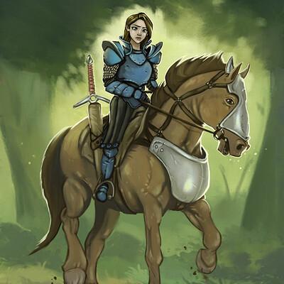 Shaun lindow female knight