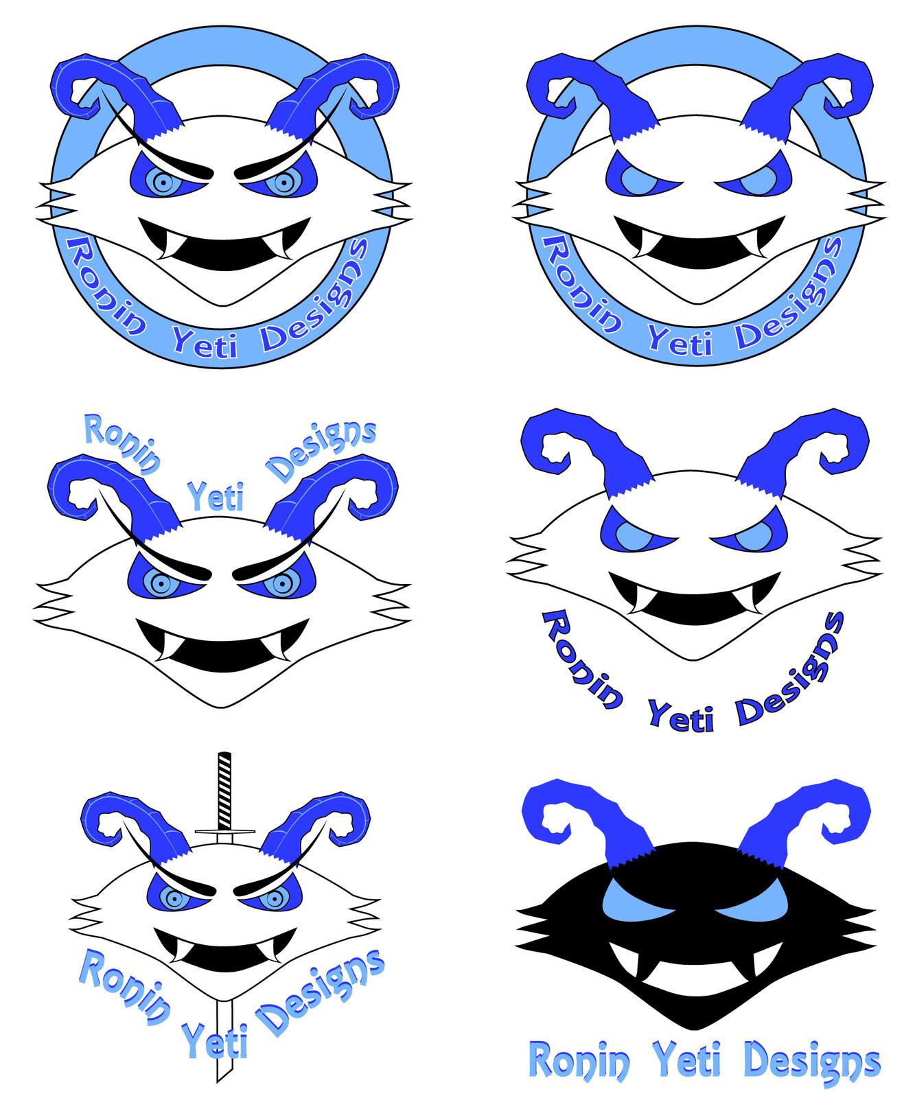 Original concepts for the 2nd logo