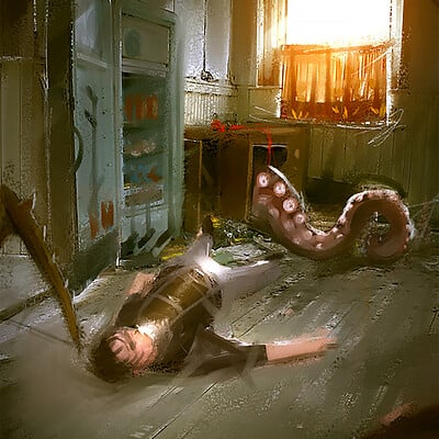 Benedick bana house of fear2