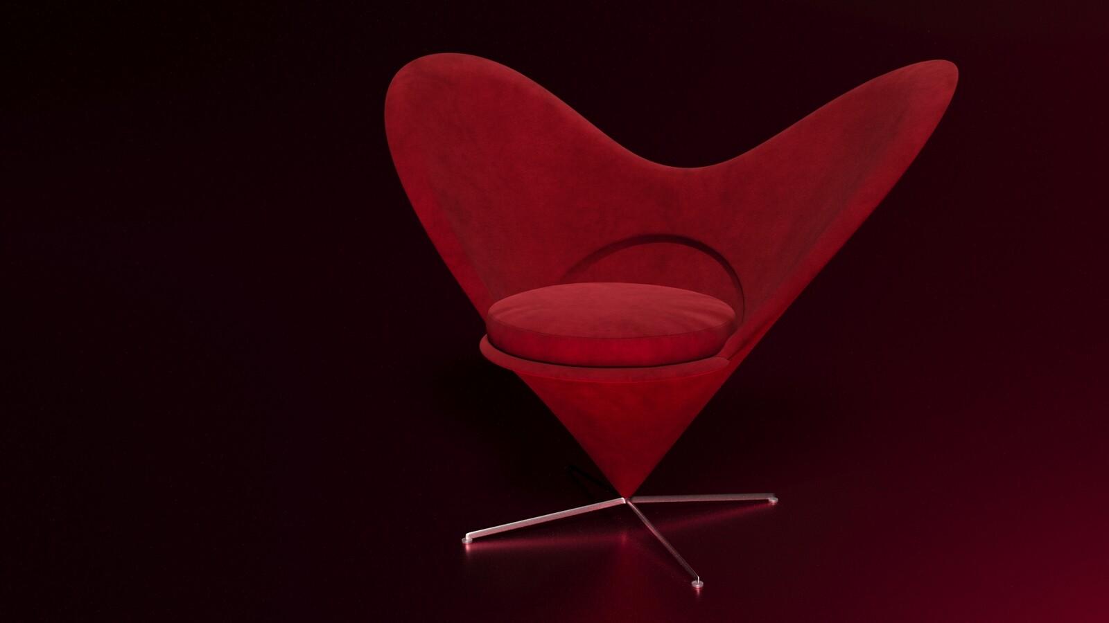 Cone Heart Chair